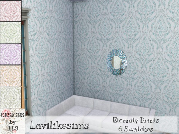 The Sims Resource: Flowing Panel 2 by Caroll91