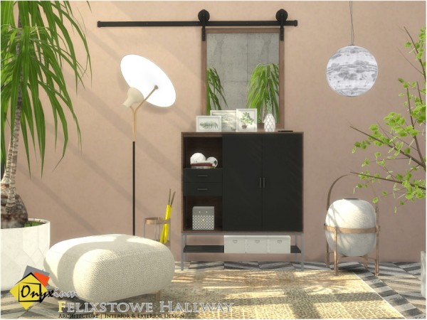 The Sims Resource: Felixstowe Hallway by Onyxium