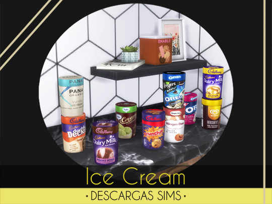 Descargas Sims: Ice Cream