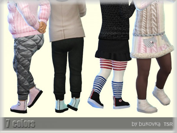 The Sims Resource: Fashionista Shoes by bukovka