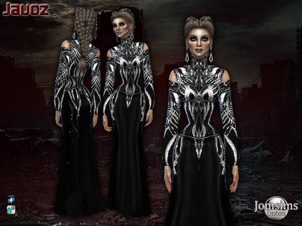 The Sims Resource: Javoz Dress by jomsims