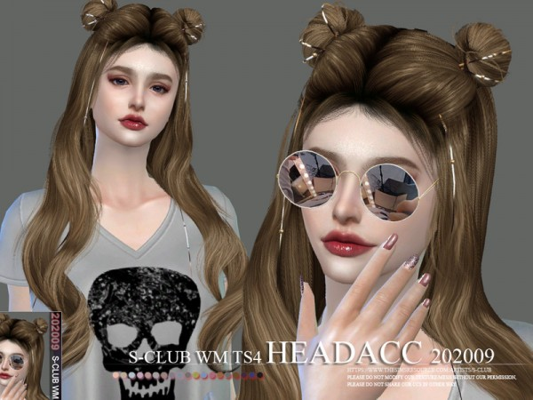 The Sims Resource: Headacc 202009 by S Club