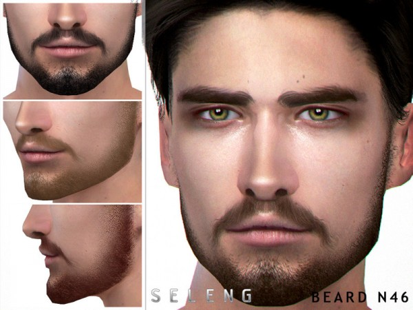 The Sims Resource: Beard N46 by Seleng