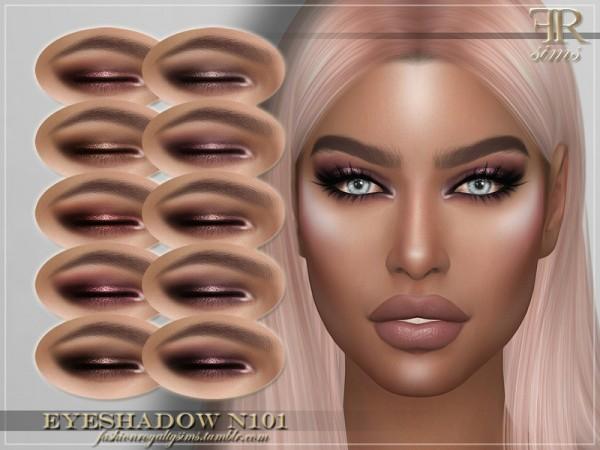 The Sims Resource: Eyeshadow N101 by FashionRoyaltySims