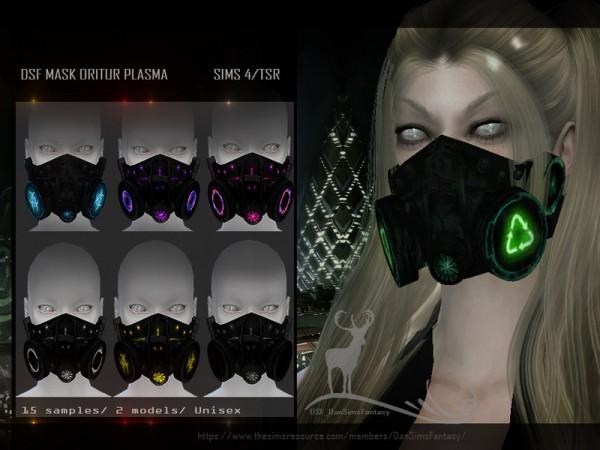 The Sims Resource: Mask Oritur Plasma by DanSimsFantasy