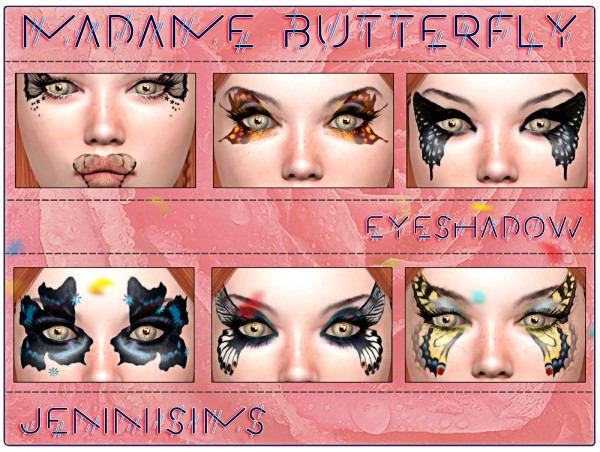 Jenni Sims: Eyeshadow Madame Butterfly