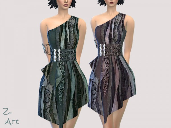 The Sims Resource: Apocalyptic II Dress by Zuckerschnute20