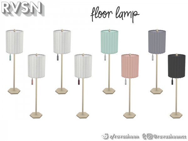 The Sims Resource: Watts Not To Love Lamp Set by RAVASHEEN