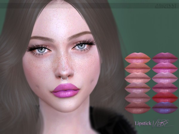The Sims Resource: Lipstick Vibe by ANGISSI