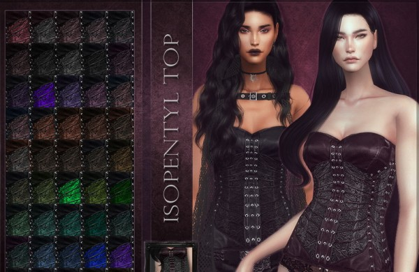 The Sims Resource: Isopentyl Top by RemusSirion