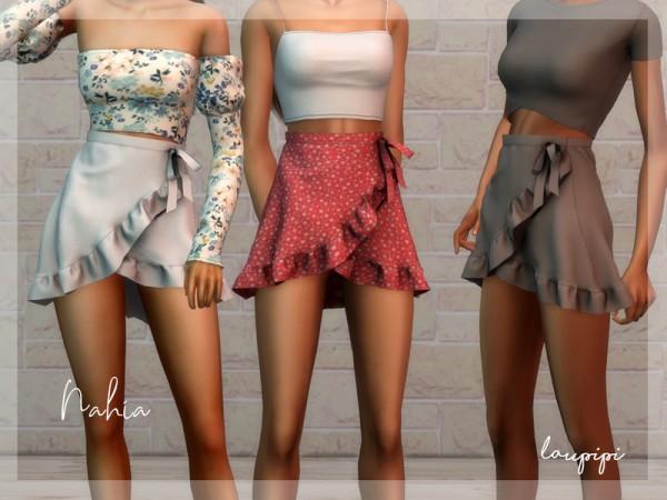 The Sims Resource: Nahia Skirt by Laupipi