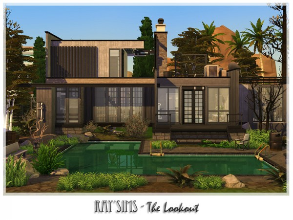 The Sims Resource: The Lookout by Ray Sims