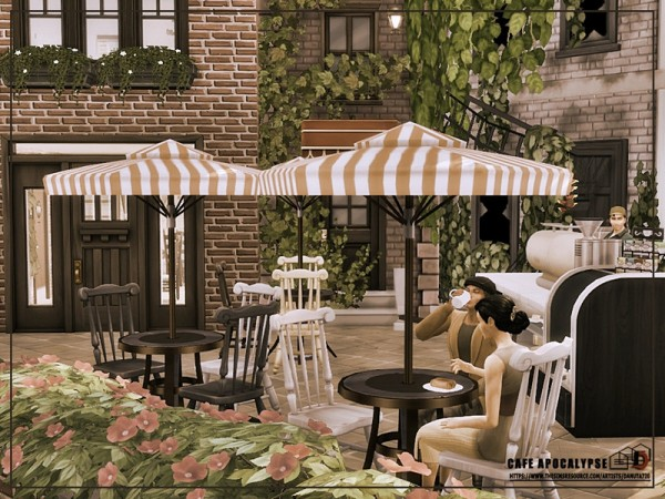 The Sims Resource: Cafe Apocalypse by Danuta720