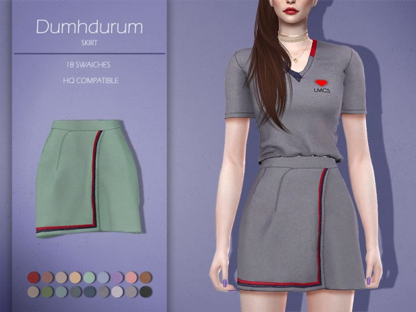 The Sims Resource: Dumhdurum Skirt by Lisaminicatsims