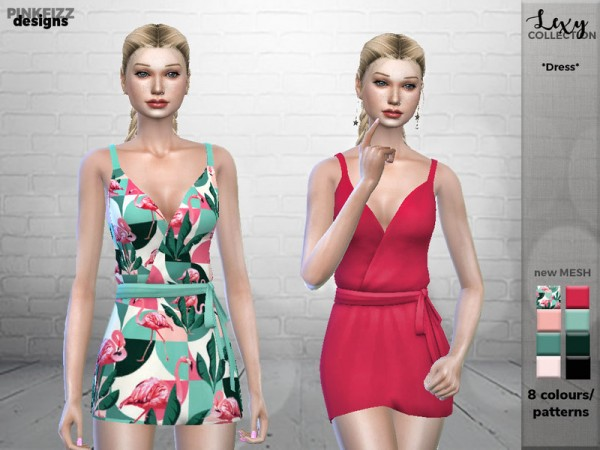 The Sims Resource: Lexy Dress PF92 by Pinkfizzzzz
