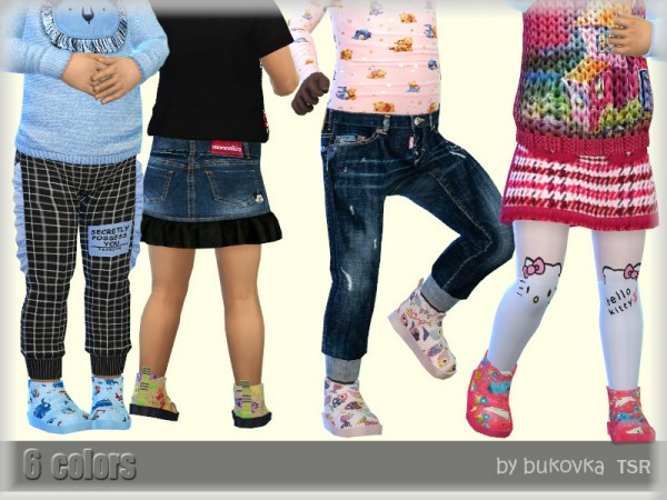 The Sims Resource: Boots Babies by bukovka