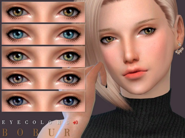 The Sims Resource: Eyecolors 40 by Bobur