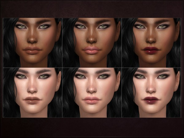 The Sims Resource: Proteomics Lipstick by RemusSirion