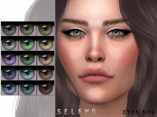 The Sims Resource: Eyes N70 by Seleng
