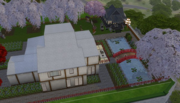 Mod The Sims: A Japanese house for the suburbs by karriekitten