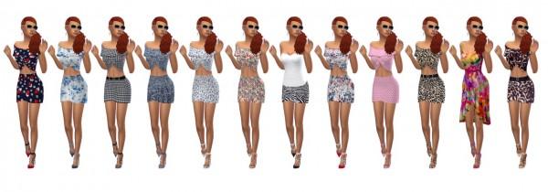 Sims 4 Sue: Madlen`s Eros Shoes recolored