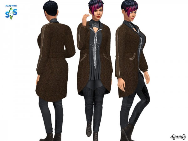 The Sims Resource: Apocalypse Outfit 20200501 by dgandy