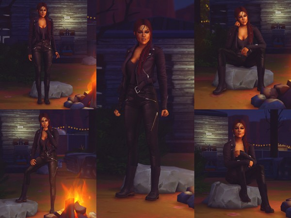 The Sims Resource: Pose Pack 28 by KatVerseCC