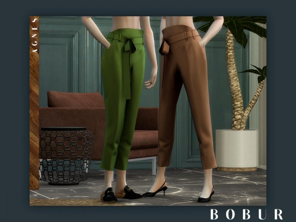 The Sims Resource: Agnes pants by Bobur