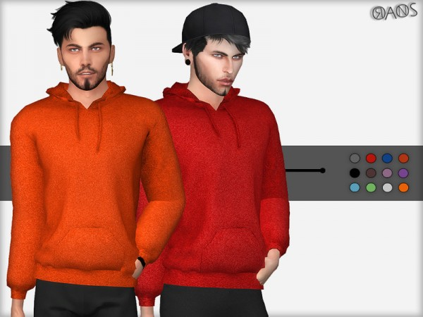 The Sims Resource: Polar Hoodie by OranosTR