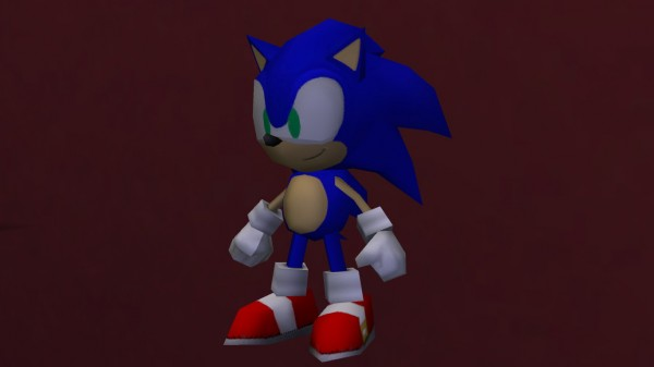Mod The Sims: Sonic The Hedgehog Toy by LightningBolt