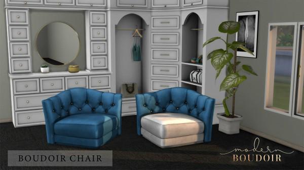 Leo 4 Sims: Boudoir Chair