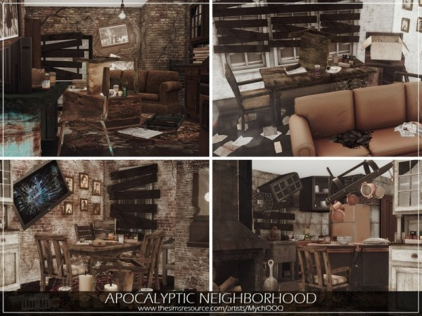 The Sims Resource: Apocalyptic Neighborhood by MychQQQ
