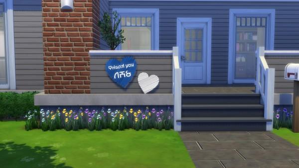Mod The Sims: NHS Appreciation Heart Sculpture by Teknikah
