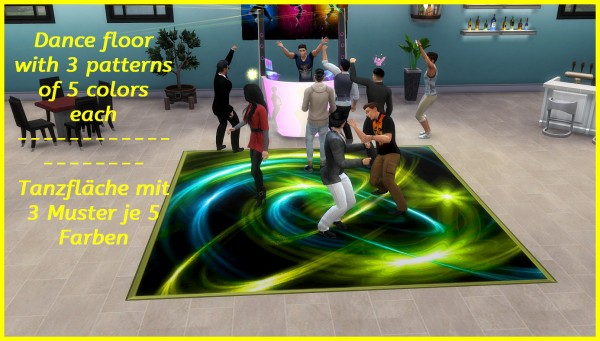 Mod The Sims: Dance Floor by hippy70