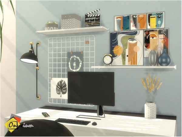 The Sims Resource: Croydon Study Room by Onyxium