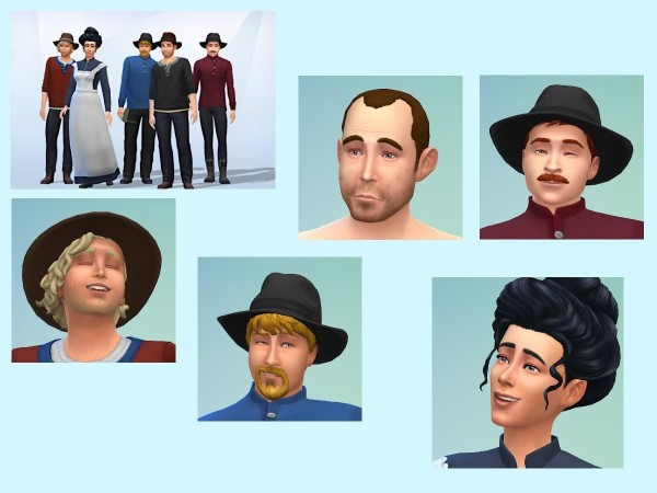 KyriaTs Sims 4 World: The railroad workers