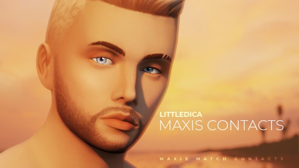 Mod The Sims: Maxis Match Contacts by littledica