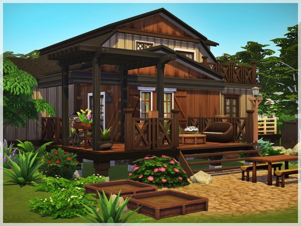 The Sims Resource: Little Cottage by Ray Sims