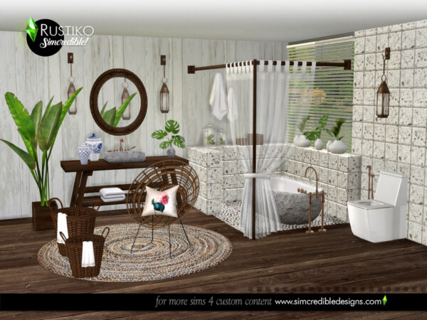 The Sims Resource: Rustiko Decor by  SIMcredible!