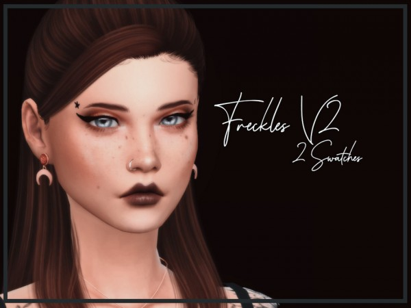 The Sims Resource: Freckles V2 by Reevaly