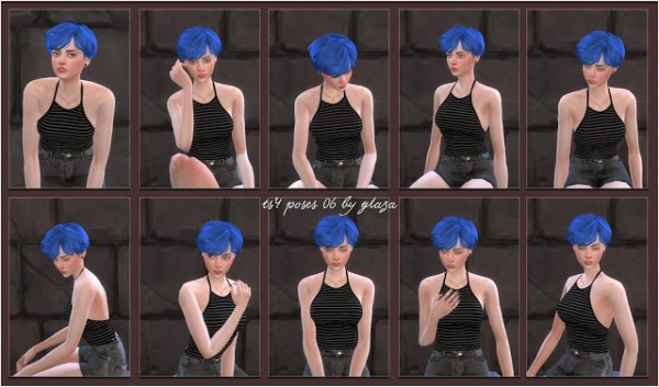All by Glaza: Poses 06