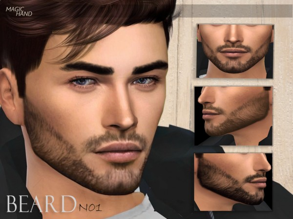 The Sims Resource: Beard N01 by MagicHand