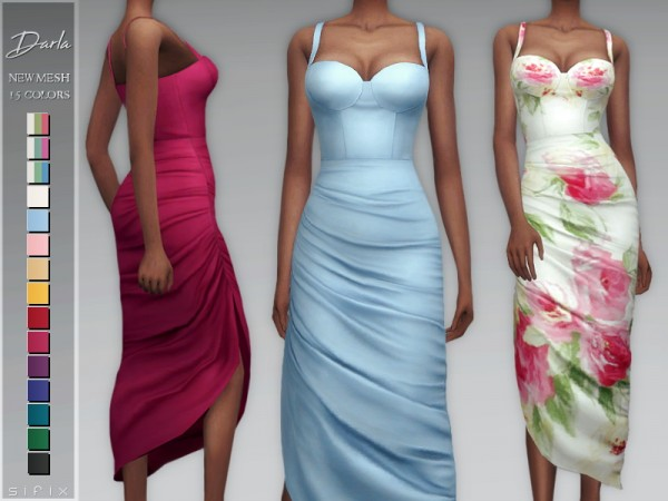 The Sims Resource: Darla Dress by Sifix