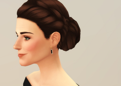 Rusty Nail: Duchess of Blue   Hairstyle