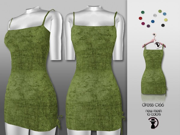The Sims Resource: Dress C166 by turksimmer