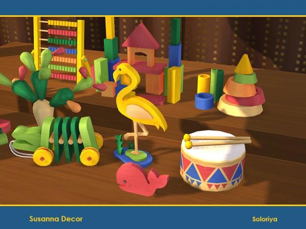 The Sims Resource: Susanna Decor by soloriya