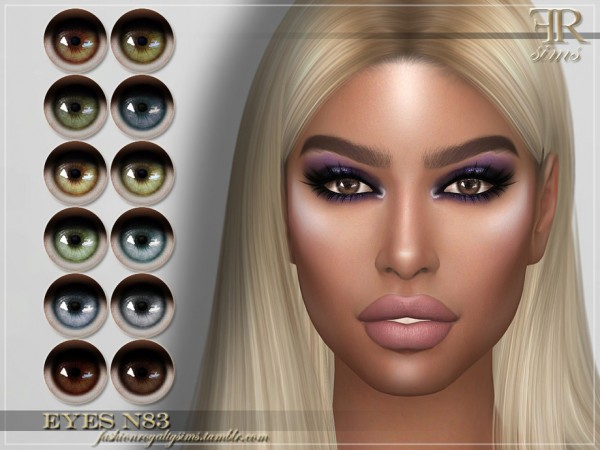 The Sims Resource: Eyes N83 by FashionRoyaltySims