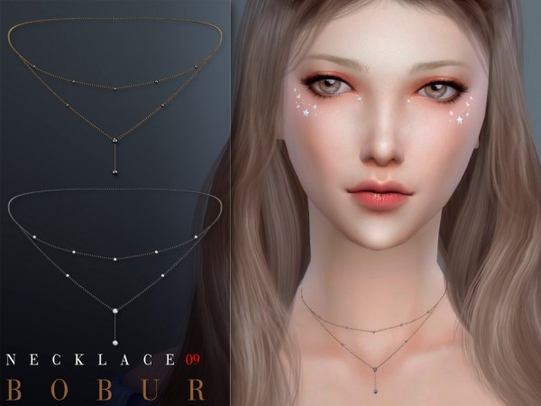 The Sims Resource: Necklace 09 by Bobur