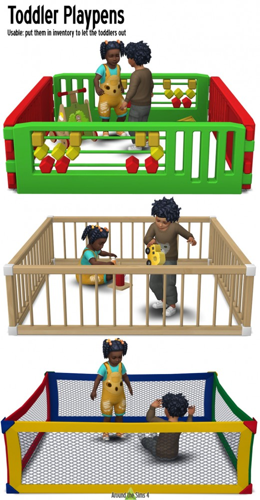 Around The Sims 4: Toddlers Playpens