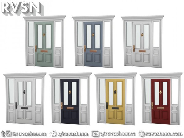 The Sims Resource: Shut The Front Door   Curb Appeal Set by RAVASHEEN